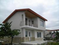 Two-storey new house near the sea coast