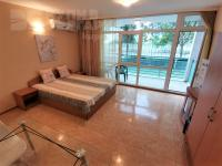 Spaciously furnished studio 350 meters from the sea in Sunny Beach