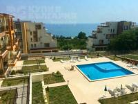 Furnished, two bedroom apartment with sea view in Byala